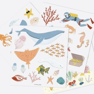 jeu de magnets - sous l'océan ferflex