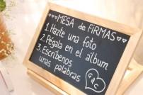 MESA DE FIRMAS -PIZARRA