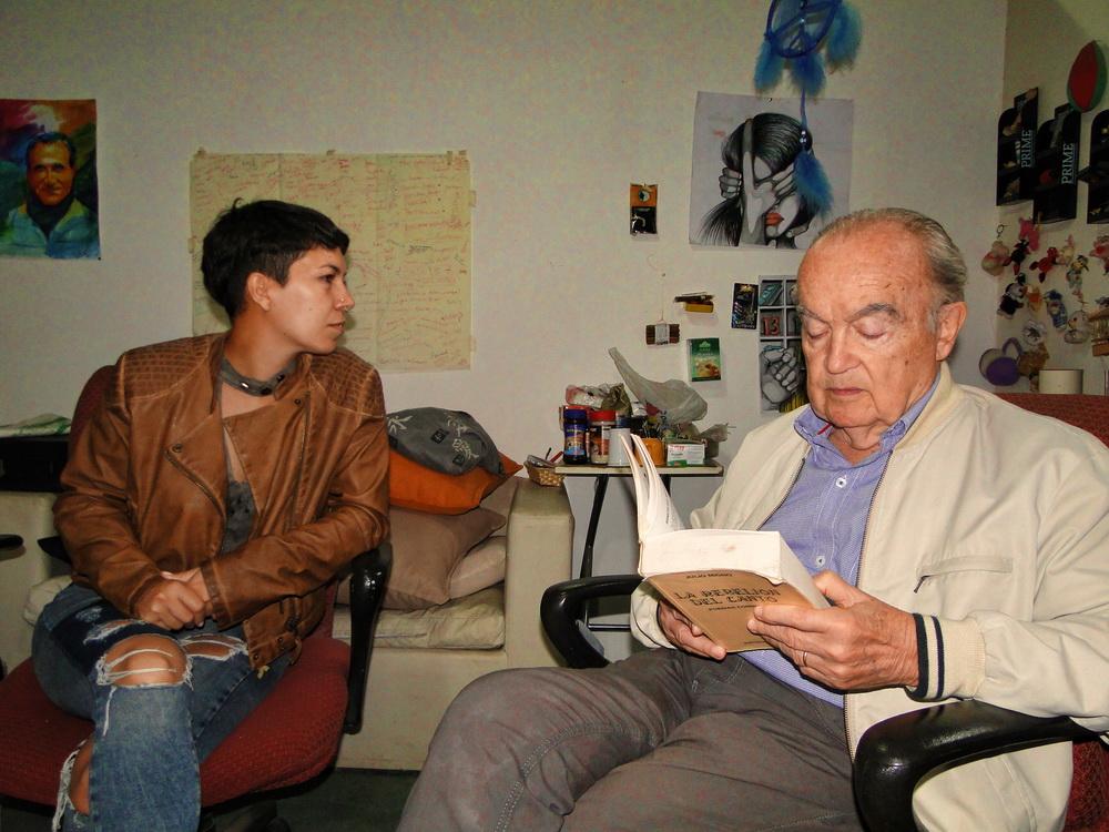 Una mañana con J.Taverna Irigoyen en La Casona.