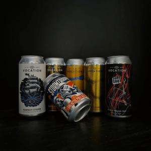 Bières en cannettes de la Vocation Brewery