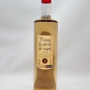 Crème de Pêche de vigne Louis Roque 18°