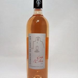 Domaine de Saint-Ser 2016 Cuvée de l'ermite Côtes de Provence Sainte victoire rosé BIO