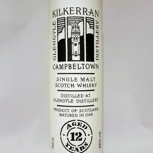 Kilkerran Campbeltown 12 ans single malt whisky 46°