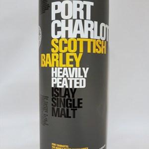 Port Charlotte scottish barley heavily peated Islay single malt 50°