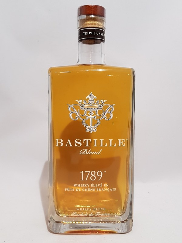 whisky bastille élevé en fûts de chêne français