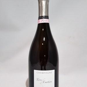 Champagne Terre d'Émotion Rosé brut