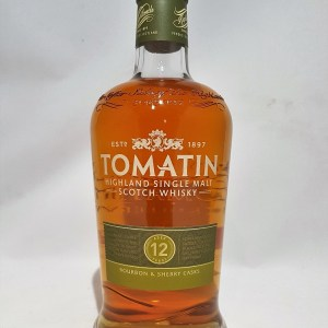 Tomatin 12 ans Highland single malt whisky 43%