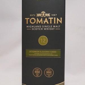 Tomatin 12 ans Highland single malt whisky 43%