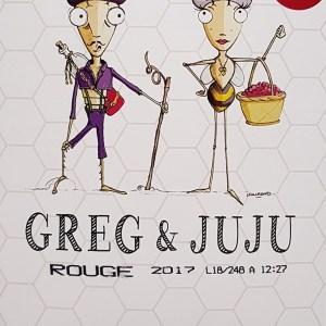 Greg et Juju rouge Igp Pays d'Oc 3 litres