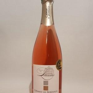 Bulles de Lisennes Crémant de Bordeaux rosé