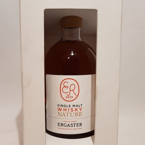 Ergaster Single Malt Whisky nature 45° conversion BIO 2015