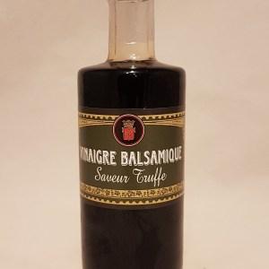 Vinaigre Balsamique à la saveur truffe 6° 25 cl