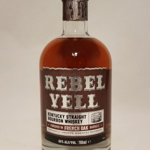 Kentucky straight Bourbon Whiskey Rebell Yell 45°