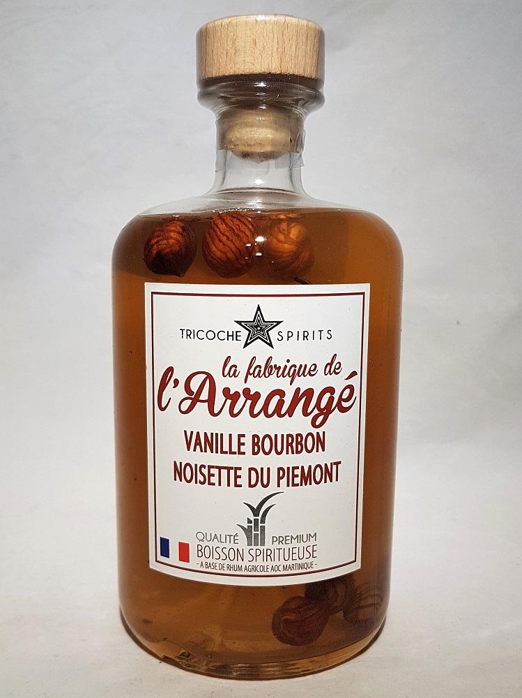 Amaretto Marron Mat Inge-verre Arbre de Noël pointe