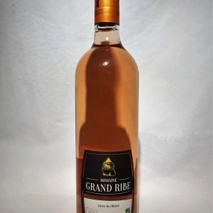 Domaine Grand Ribe Côtes du Rhône Rosé BIO 2019