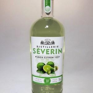 Punch citron vert Distillerie Séverin