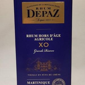 Rhum Depaz Hors d'Age agricole XO Grande Réserve 45°