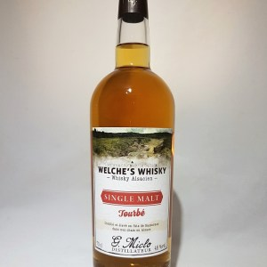Distillerie Miclo Whisky Alsacien single malt Tourbé 46°
