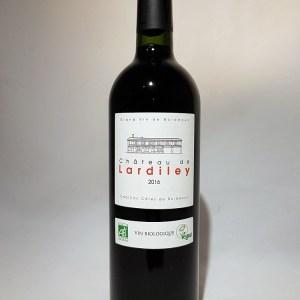 Château Lardilley rouge Cadillac-Côtes de Bordeaux 2016