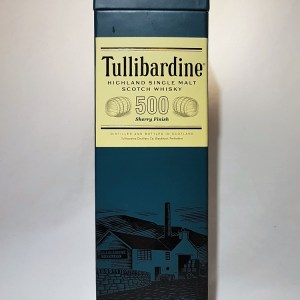Tullibardine 500 sherry finish Highland single malt 43°