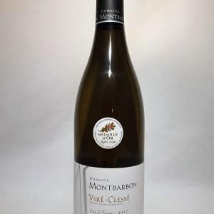 Viré-Clessé Blanc Domaine Montbarbon «Les 3 terroirs» 2017