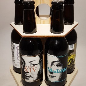 Carrousel de 6 bières Brasserie Bacquet de Pierres Maintenon