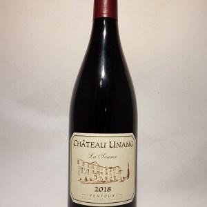 Ventoux rouge Château Unang «la source» 2018 BIO