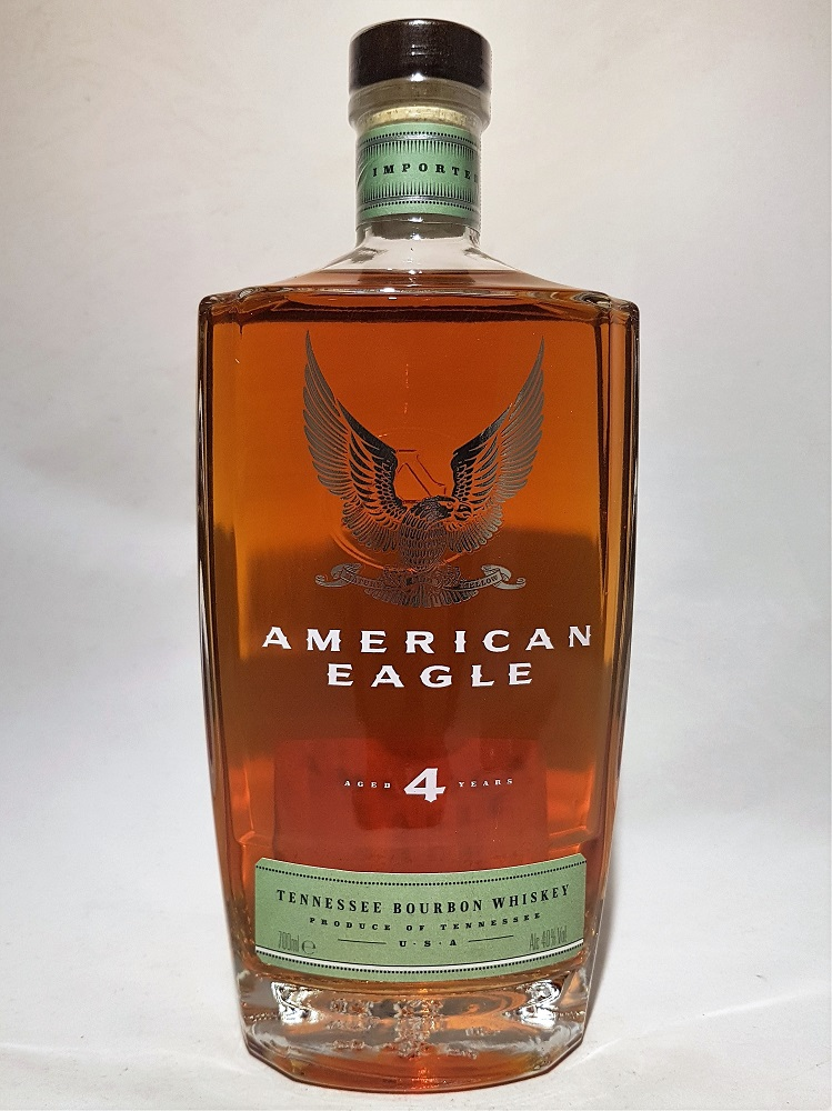 Tennessee Bourbon Whiskey American eagle 4 ans 40°