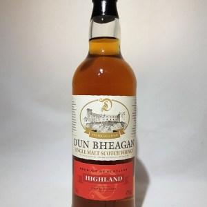 Dun Bheagan Highland Single Malt Whisky 43°