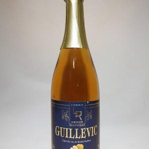 Cidre artisanal Breton le Guillevic de le Cidrerie la Ruaudaie