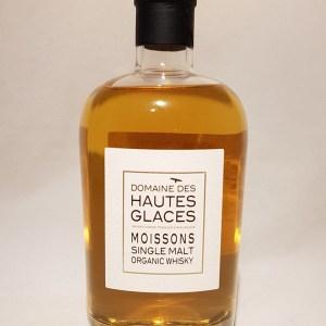 Domaine des Hautes Glaces Moissons malt whisky single malt BIO