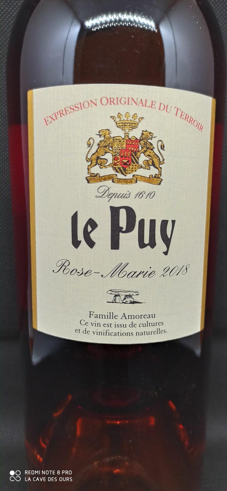 Rose-Marie Label -le puy