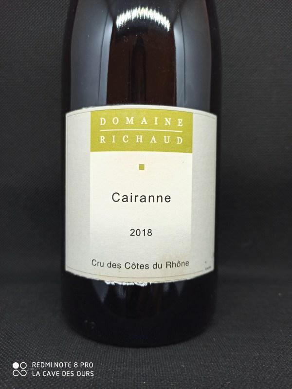 Cairanne blanc close up