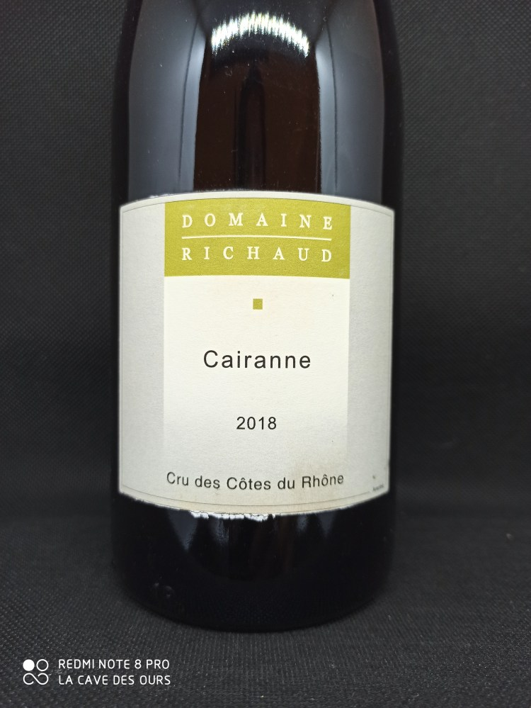 Cairanne blanc close up