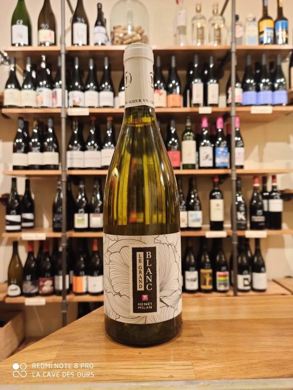 le grand blanc bottle white wine