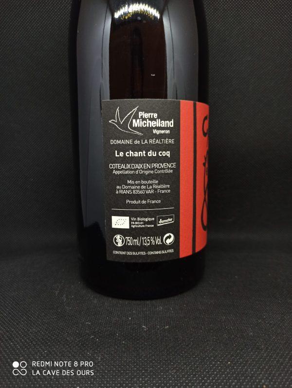 side label cante gau