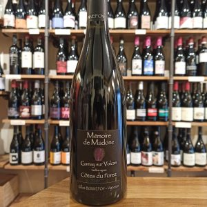Mémoire de Madone 2020 red natural wine bottle