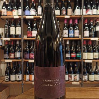 Les Rougeots du Clos 2020 - Natural red wine bottle