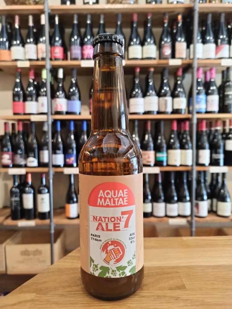 Nation'Ale 7 beer english bitter