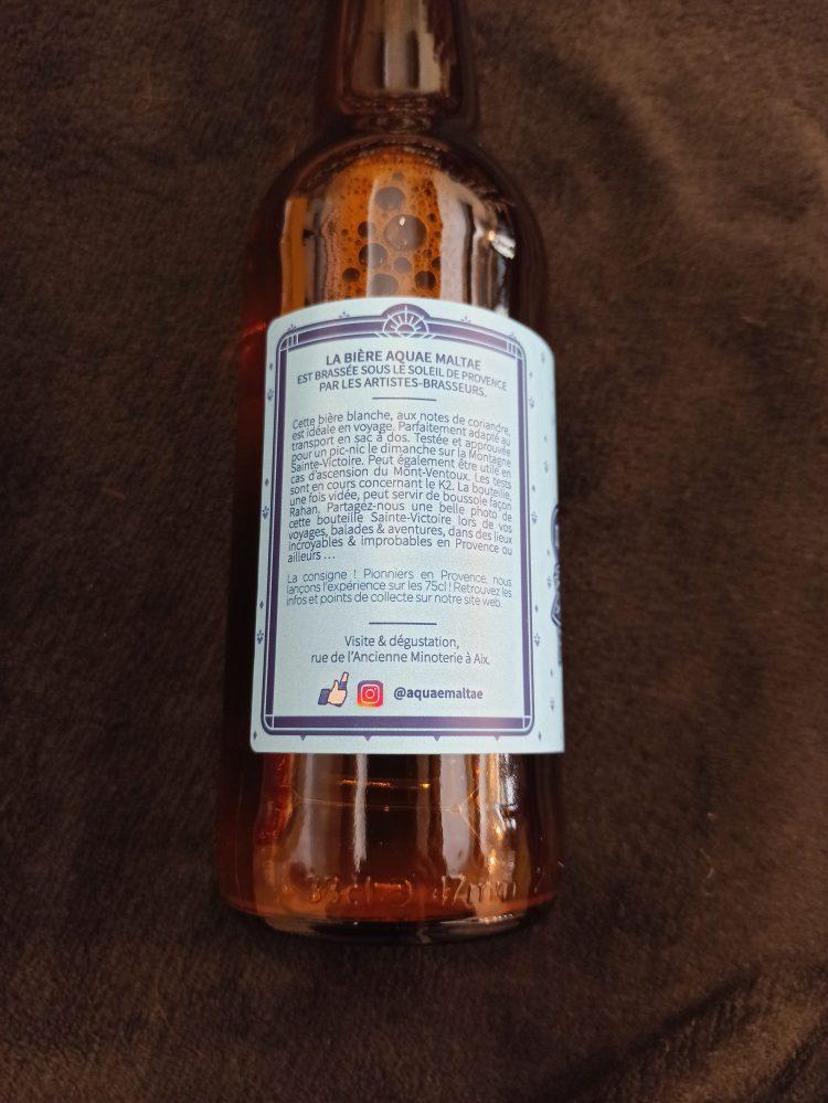 Side label saint victoire