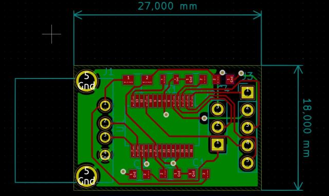 PCB RS232 FTDI