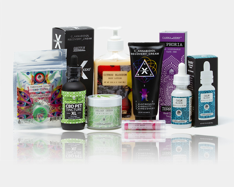 LA|CBD Wide Selection of CBD and Hemp Oil Products