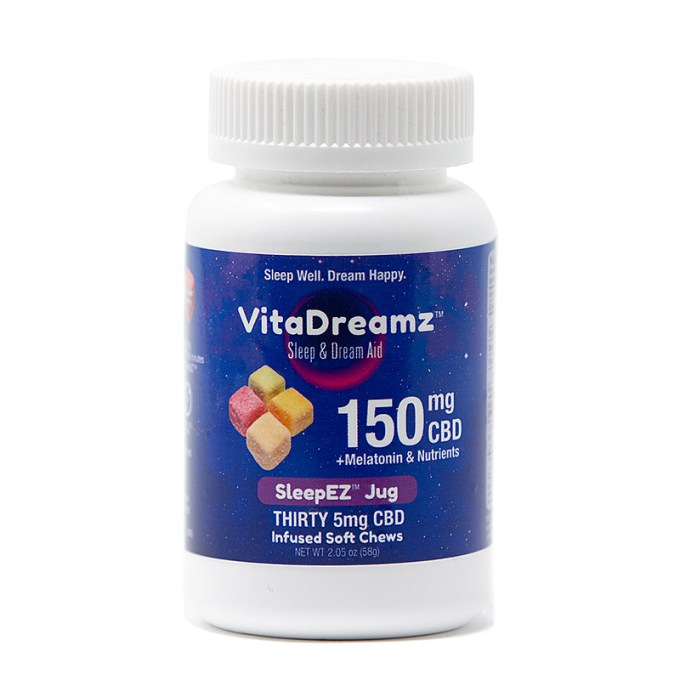 VITADREAMZ CBD Sleep & Dream Aid Soft Chews