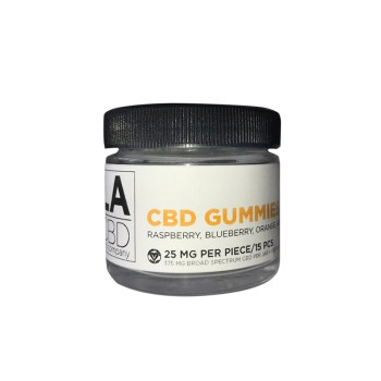 LACBD Multi-flavored Vegan Gummy Bears