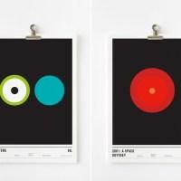 Los carteles minimalistas de Nick Barclay