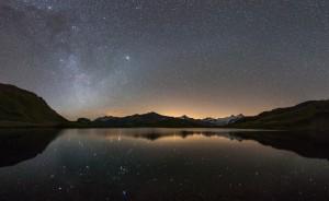 Lac des Autannes de nuit