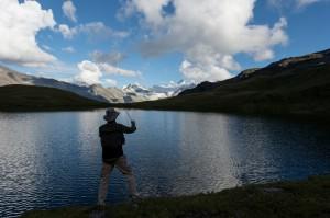 Pêche au lac des Autannes