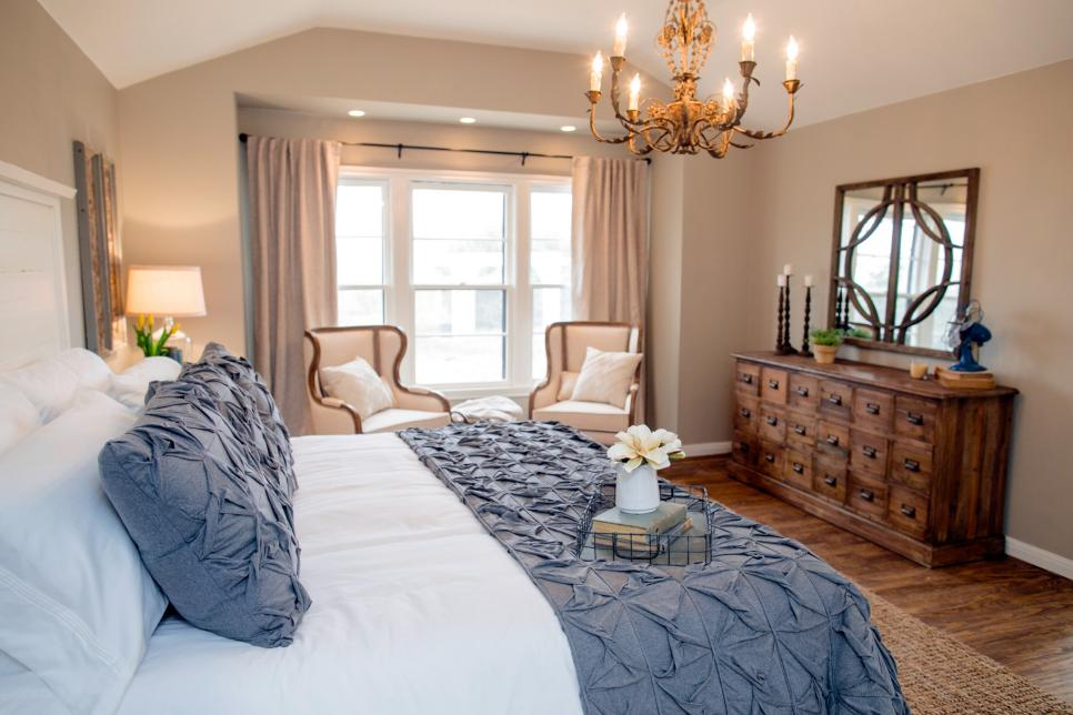 Airy Master Bedroom Inspiration - Decor - Lace & Grace Blog