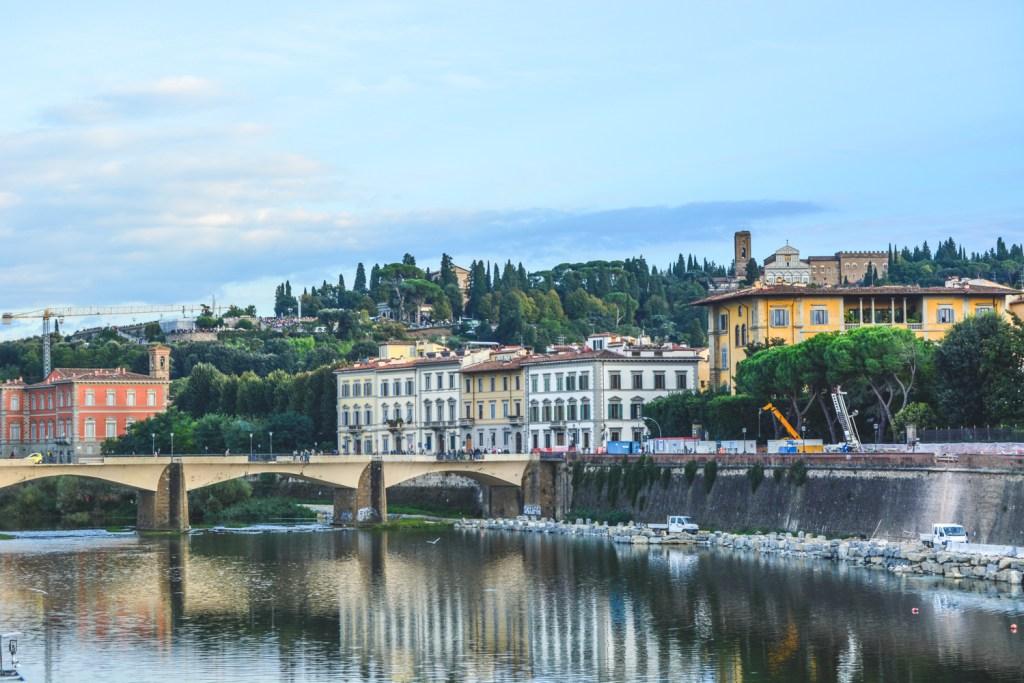 Sunset at Ponte Vecchio - Florence Travel - @lacegraceblog1