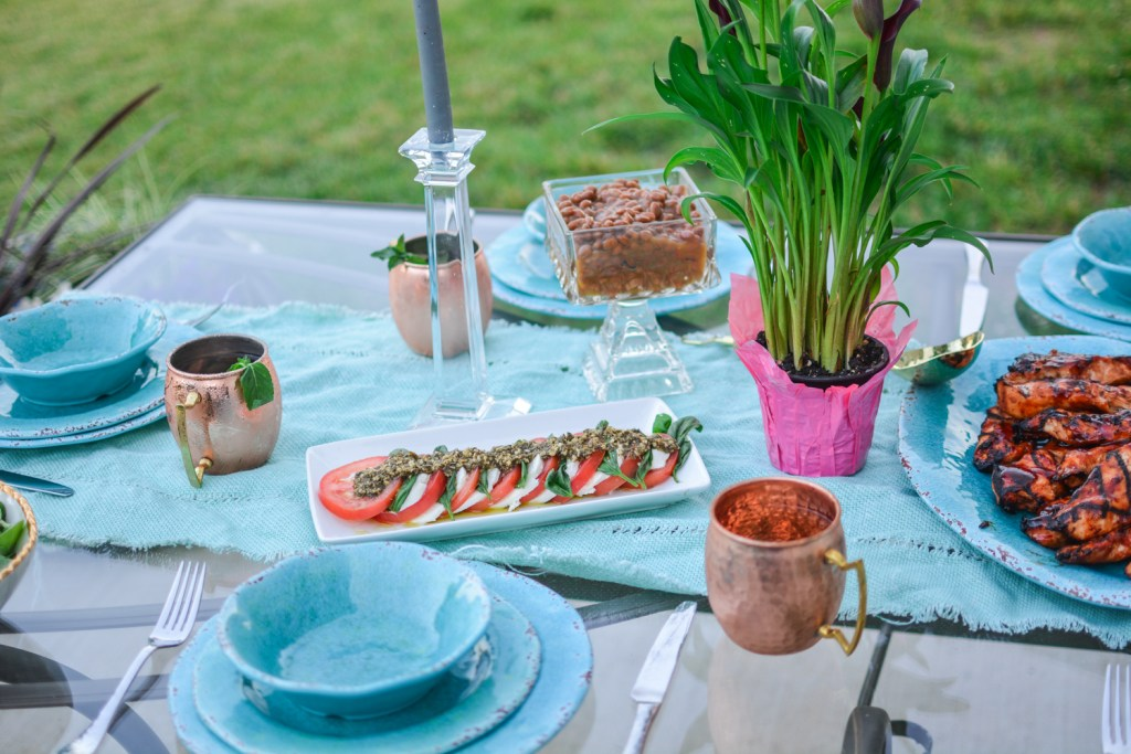 Summertime Al Fresco Entertaining